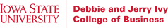 Iowa State University Ivy College of Business logo
